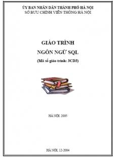 Giáo trình ngôn ngữ SQL