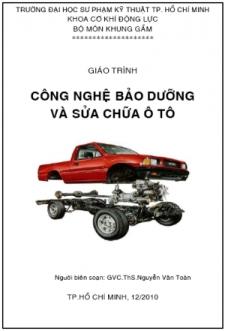 Giáo trình Công nghệ bảo dưỡng và Sửa chữa ô tô