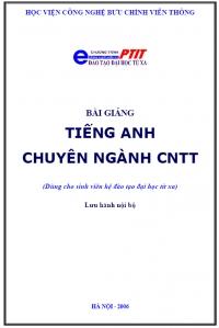 Bài giảng Tiếng Anh chuyên ngành CNTT