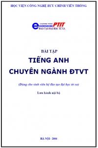 Bài tập Tiếng Anh chuyên ngành ĐTVT