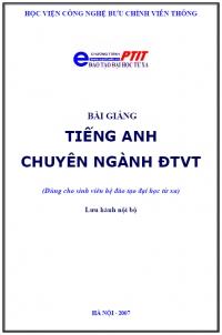 Bài giảng Tiếng Anh chuyên ngành BCVT