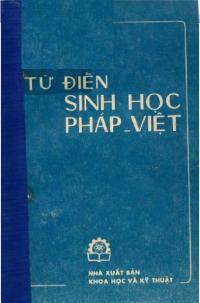 Từ điển sinh học Pháp - Việt