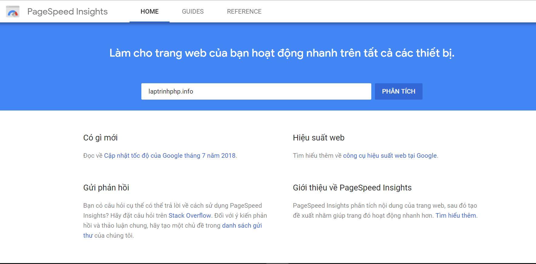Những công cụ kiểm tra hiệu suất website hiệu quả và miễn phí