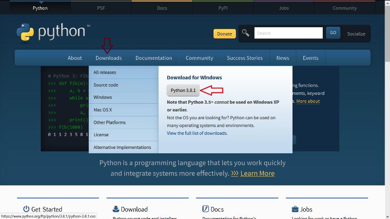 Hướng dẫn cài đặt Python trên windows